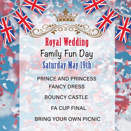 Royal Wedding Socials Post