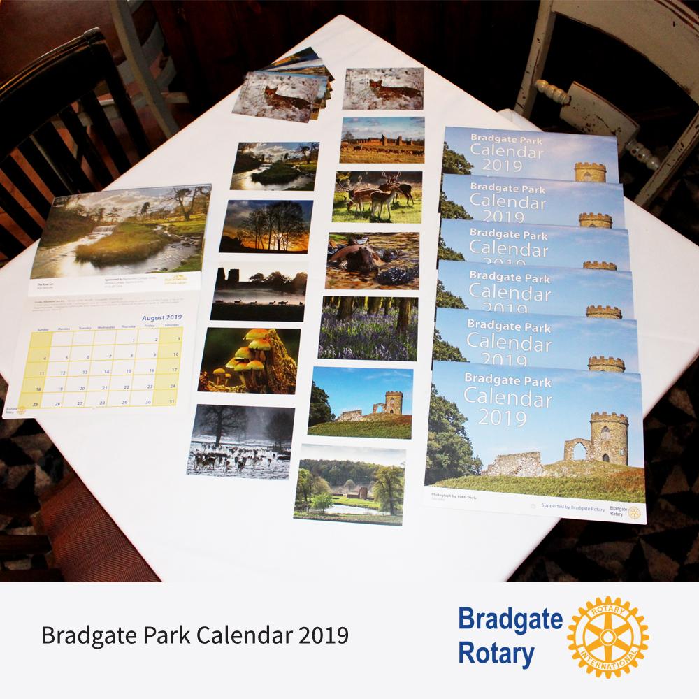 Bradgate Park 2019 Calendars