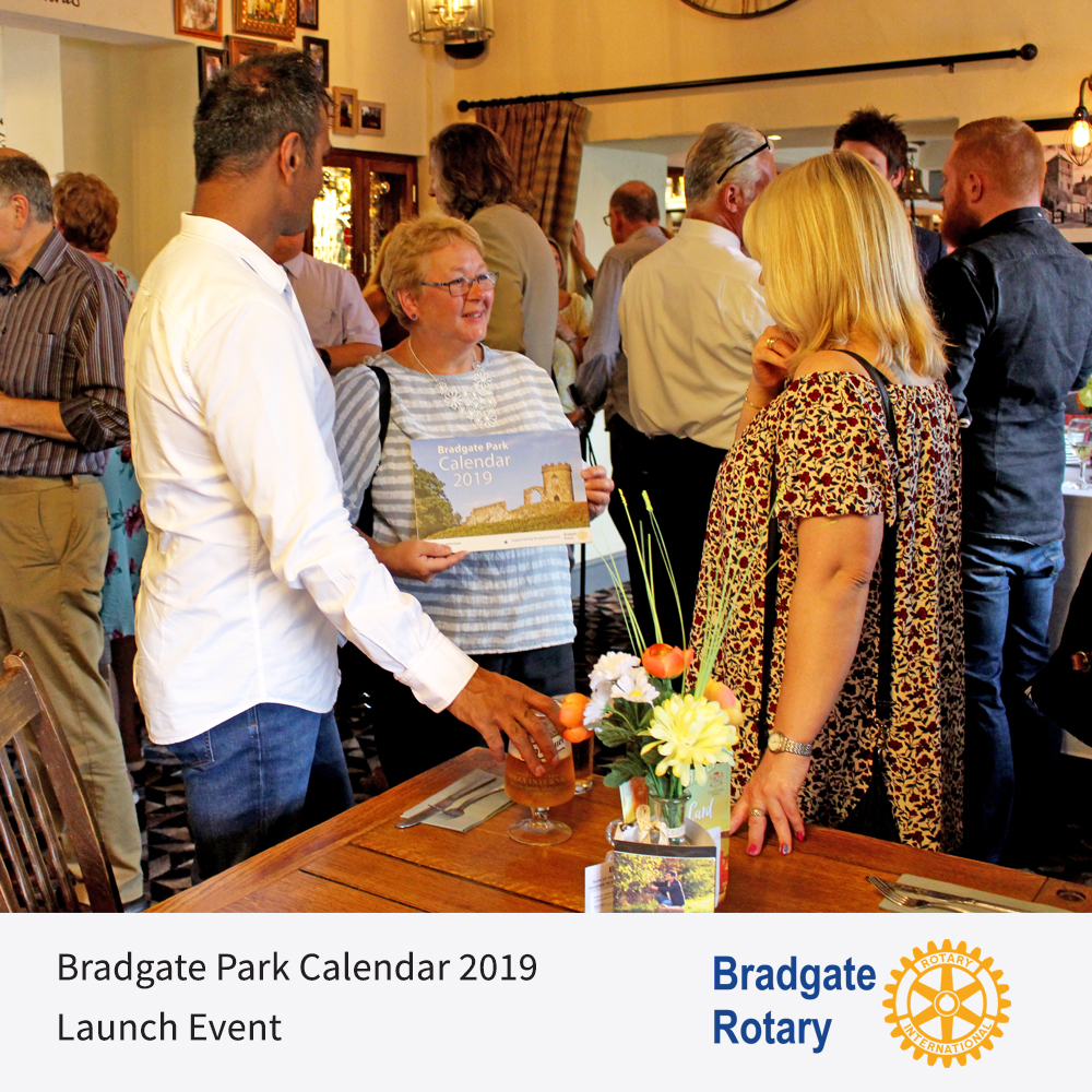 Launch Evening Bradgate Park Calendars