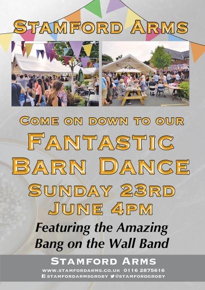 Barn Dance A3 Poster